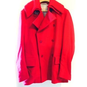 Pringle Other - Red Pringle Wool Cashmere Peacoat