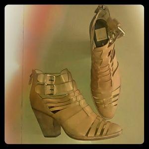 Brown Leather Dolce Vita heels