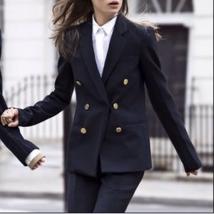 Zara Jackets & Coats - Zara nautical blazer