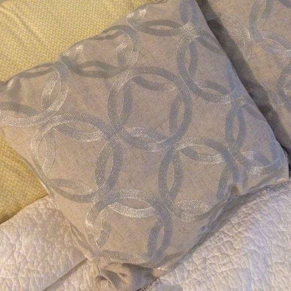 Tahari Home Decorative Pillow : 64% off Tahari Other - Throw pillows from Jessica s closet on Poshmark