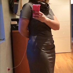 MaxMara Italy! Cotton trench coat dress!