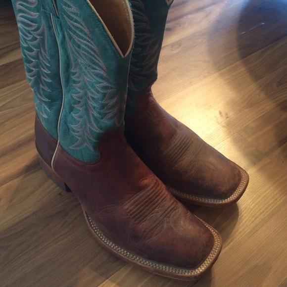 a620d333c32 Men's nocona cowboy boots square toed size 11
