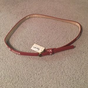 Forever 21 red belt NTW