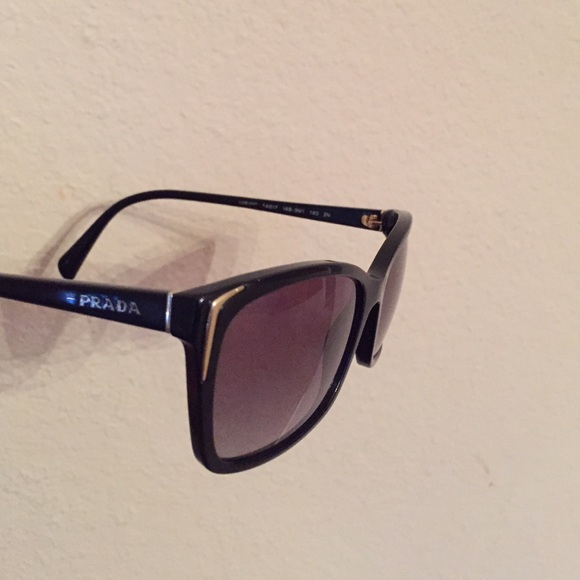 32f35cc804b Prada PR 01OS Sunglasses 1AB3M1 Black. M 552b137ff0137d0af400fb96. Other  Accessories ...