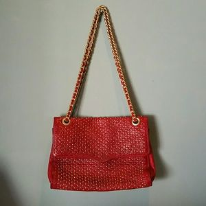 RARE! Rebecca Minkoff small studded quilt bag