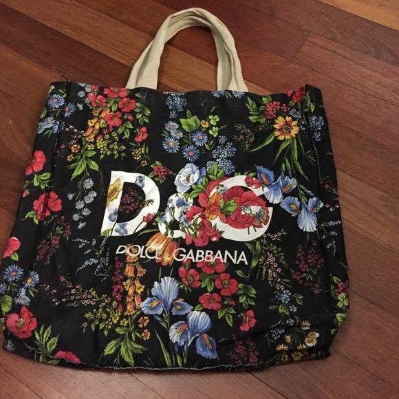 e633995cbd Dolce   Gabbana Handbags - D G canvas beach bag