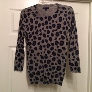 GAP Sweaters - Gap Leopard Top!