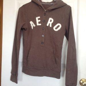 Sweaters - Brown Aeropostale sweatshirts