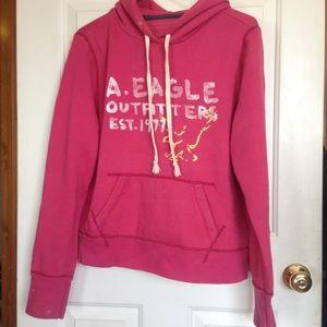 Sweaters - Pink American eagle sweatshirt