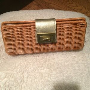 J. Crew Clutches & Wallets - J.Crew wicker clutch