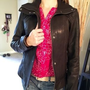 Cole Haan Jackets & Blazers - Cole Haan diamond quilted leather jacket