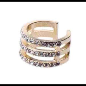 Above Knuckle Bling Ring