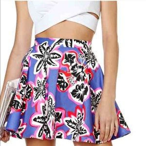 Like New Nasty Gal Electric Skirt!