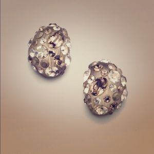 Alexis Bittar Swarovski Accent LuciteBean Earrings