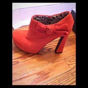 Kiss Kiss Faux Suede Booties