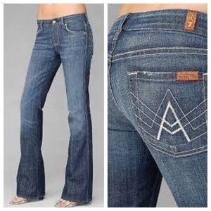 7 for all Mankind Denim - 7 For All Mankind - A Pocket