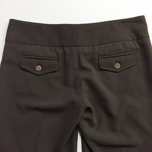 Alvin Valley Pants - Alvin Valley | brown cropped pants