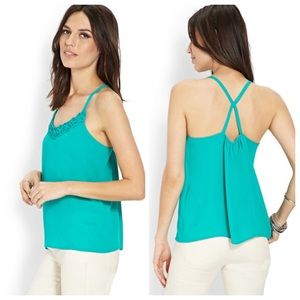 Forever 21 Tops - Forever 21 Strappy Crossback Cami Tank