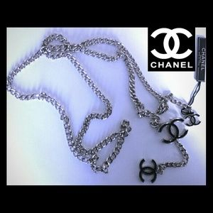**SALE** Chanel Silver Chain Link Belt