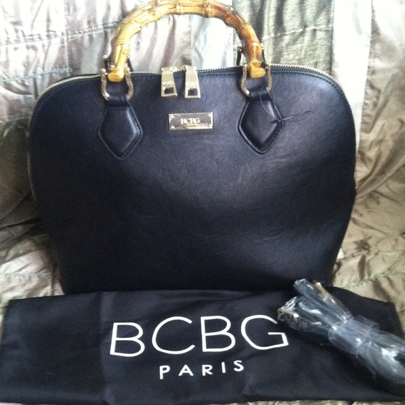 BCBG Paris leather handbag