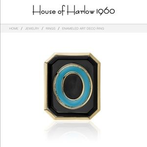 House of Harlow ring by Nicole Ritchie