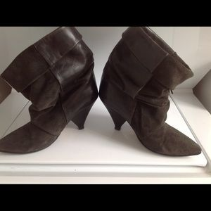 Isabel Marant pour H&M Shoes - Isabel Marant for H&M fringe boots