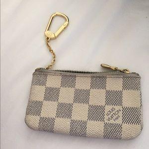 9ac091bdaeb Louis Vuitton Accessories - Damier Azur canvas