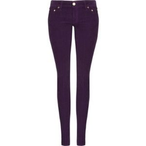 Tory Burch Super Skinny Corduroy Jeans