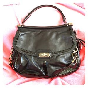 Coach limited edition Kristin leather satchel bag