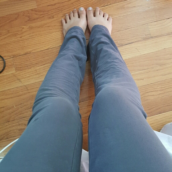 Grey Hollister Yoga Pants From