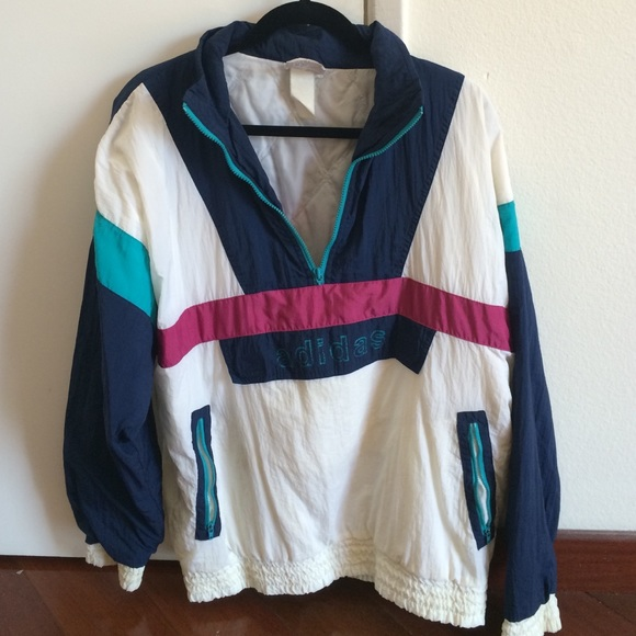 42% off Adidas Outerwear - Vintage Adidas Windbreaker from ...