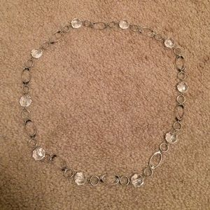 Jewelry - Clear long necklace