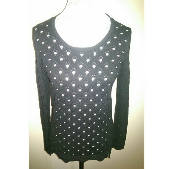 Rock & Republic - Black Sweater With Holes from Airstream's closet ...