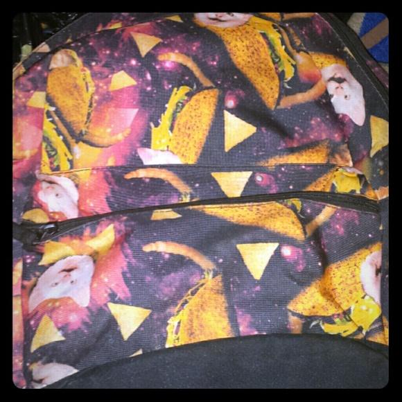 Taco cat backpack 79149872d7813