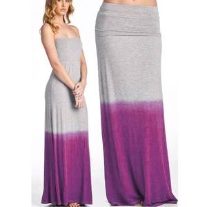 1 HR SALECALYPSO 2 way dye dip maxi - BLUE