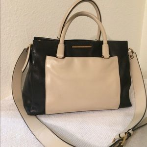 Marc by Marc Jacobs color block satchel