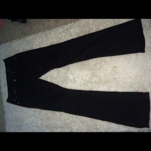 Pants - black LA idol jeweled jeans