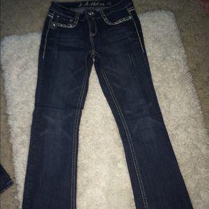 Pants - jeweled LA idol jeans