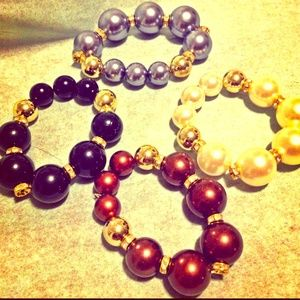 Jewelry - 🆕Tribal Pearl Bracelets $10.00 Each or 2 for $14