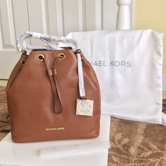 17% off Michael Kors Handbags - Sold-- MK Jules Drawstring Leather ...