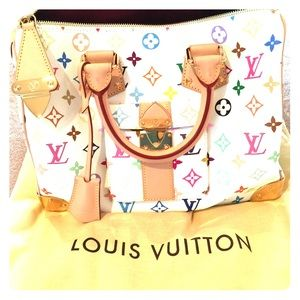 Limited Edition 2003 Louis Vuitton Murakami Speedy