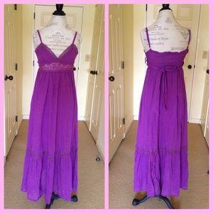 ✂️La Petit Francaise Maxi Boho Dress