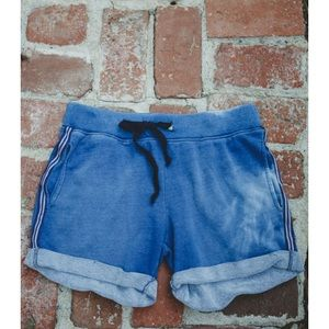 Current/Elliott Other - Nwt current elliott vintage sweatshort indigo blue