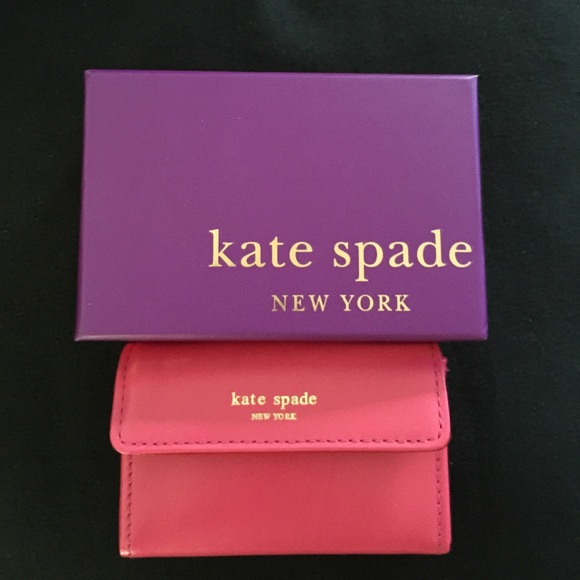 kate spade jane street holly business card holder - Kate Spade Business Card Holder