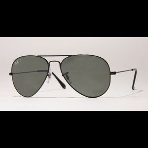 Authentic rayban polarized aviator sunglasses