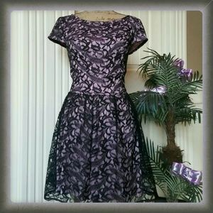 Three Pink Hearts Dresses & Skirts - ❤2X HOST PICK❤Be my lacey lavender dress