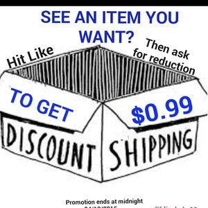Other - ASK FOR REDUCTION FOR $0.99 SHIPPING