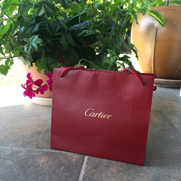 Cartier - Cartier Shopping Bag from Vina's closet on Poshmark