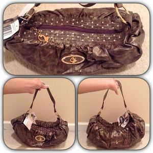 Baby Phat Handbags - NWT baby phat bronze shoulder bag