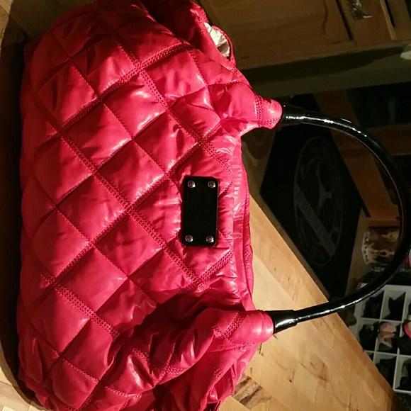 70% off kate spade Handbags - Kate Spade quilted Nylon Handbag ... : kate spade red quilted bag - Adamdwight.com